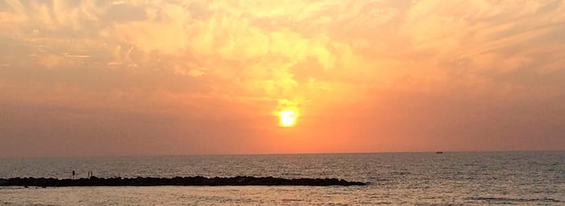 Sonnenuntergang auf Hawai
