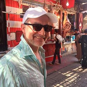 Holger auf dem Markt