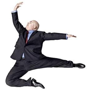 Renato hüpft