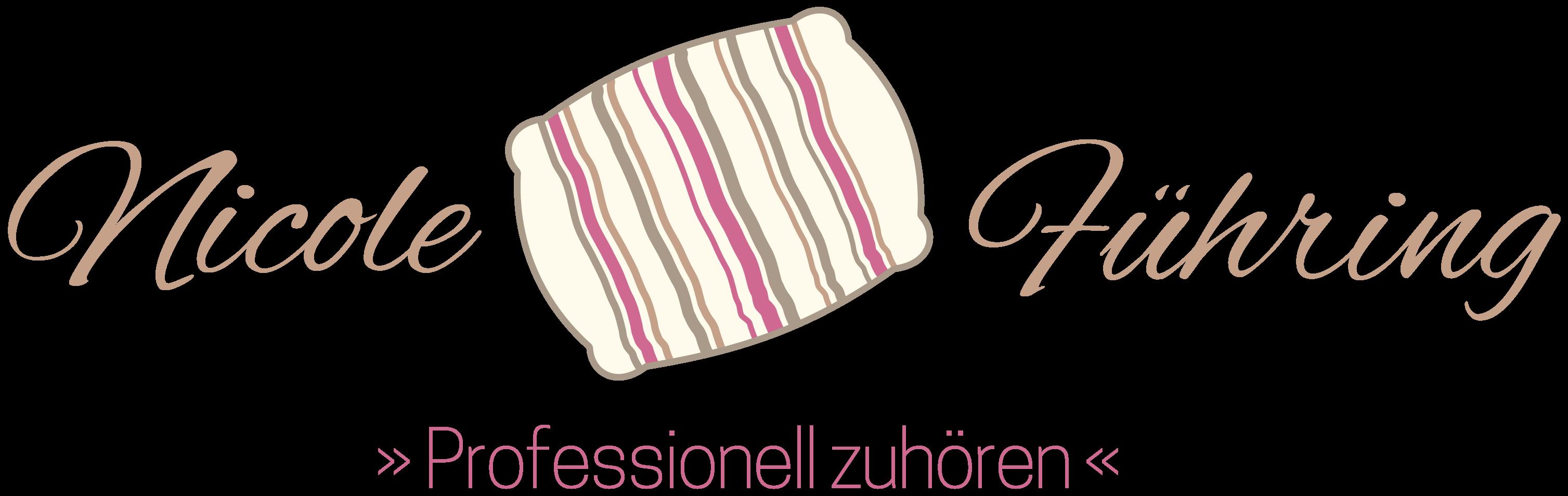 Logo und Verlinkung von Coach Nicole Führing - Professionell zuhören